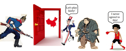 open door policy john hay. Especially Germany, Began To Take Over Leaseholds In China. Afraid  Lose The Economic Race, American John Hay Proposed Open Door Policy Open Door Policy John Hay